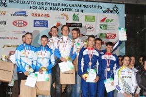 podium 1 MTBO 2014