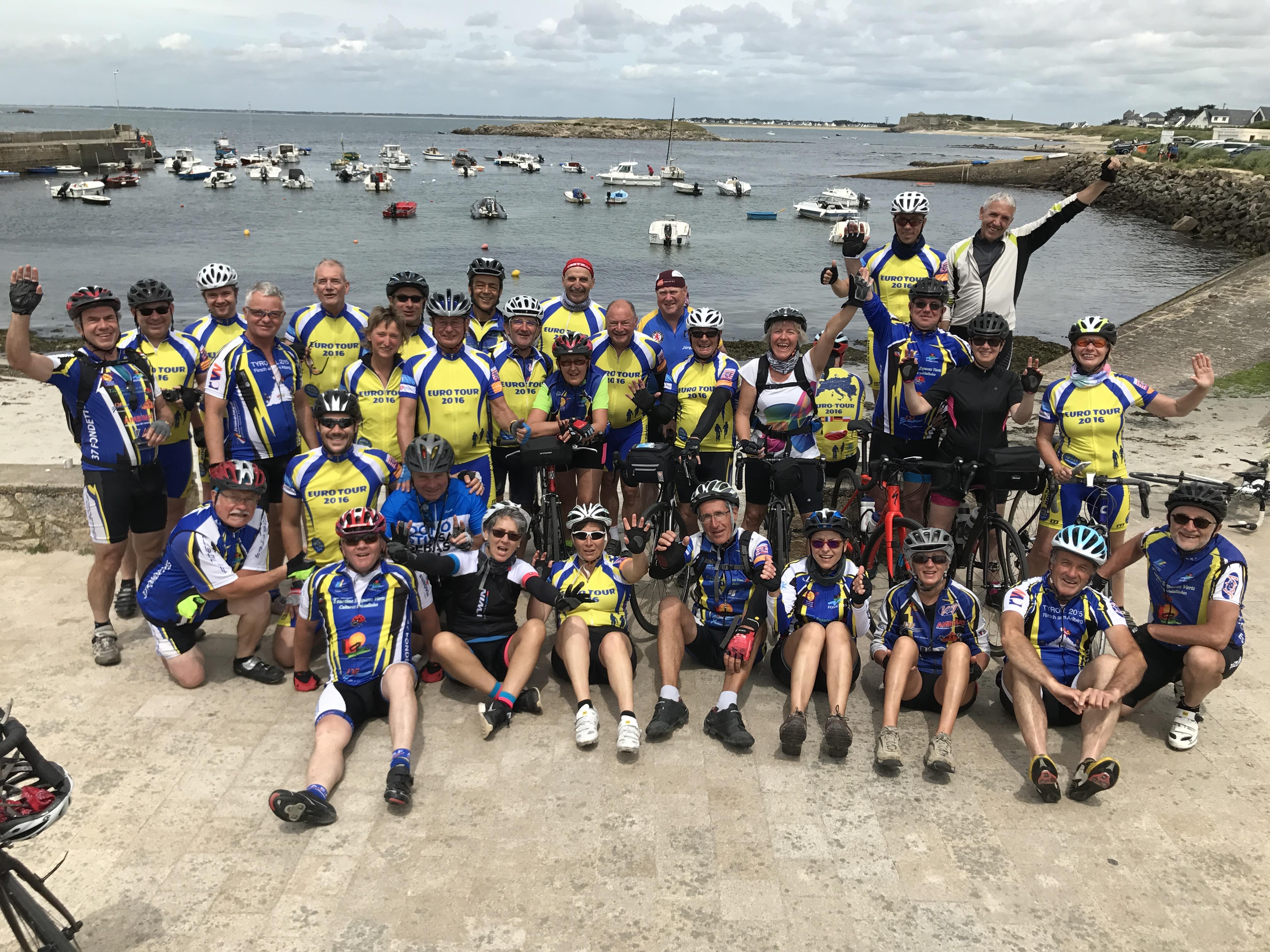 Tour de Bretagne du 3 au 11 juin 2017
