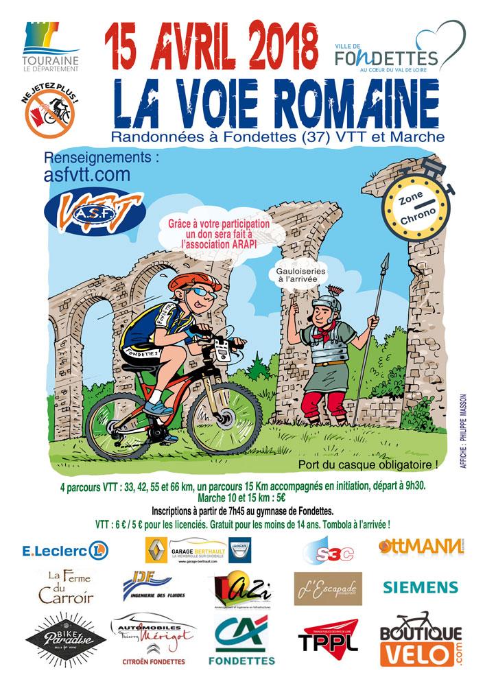 La «Voie Romaine» 2018