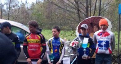 Antoine Tran Van, 2ème au cyclo cross de Château Renault.